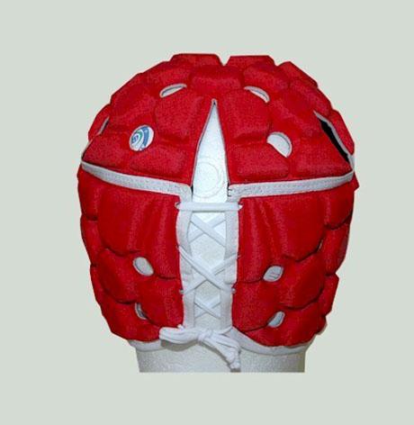 Casco CCC Ventilator Rojo
