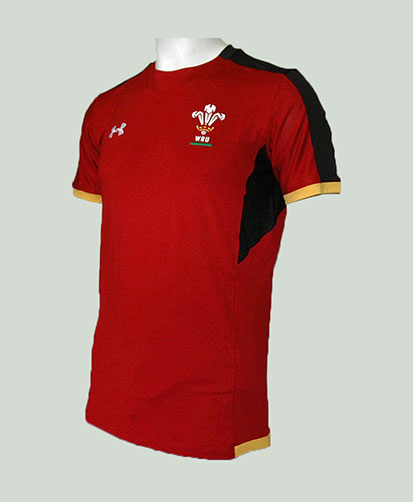 Camiseta Gales Training roja