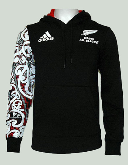 Adidas All Blacks Hoody Maorí