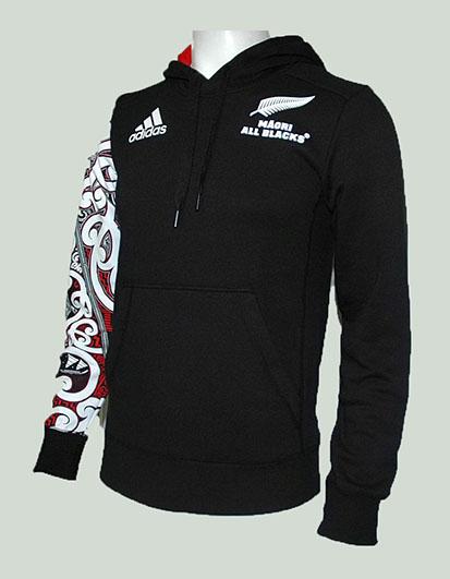 Adidas All Blacks Hoody Maorí