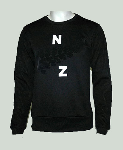 All Blacks Sudadera poliester
