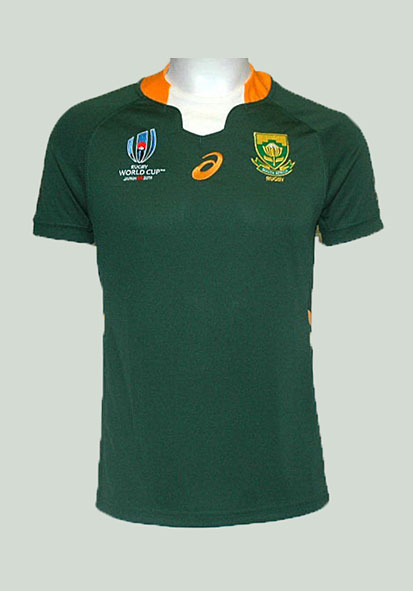 Camiseta Home Sudafrica RWC19