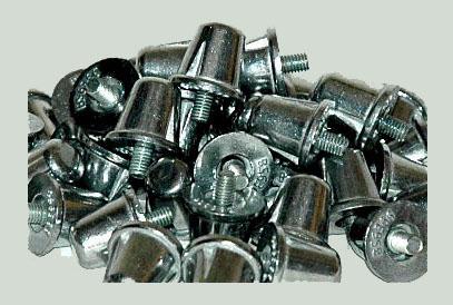 Tacos aluminio-18 mm